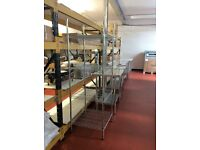 4 Tier Wire Shelving Unit 600mmx600mm