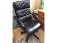 Black Office Desk Computer Chair