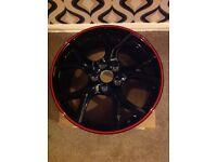 Honda civic typer 19 inch alloy wheels