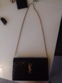 Designer YSL monocrome handbag for sale. ORIGINAL and can be viewed prior to purcase.