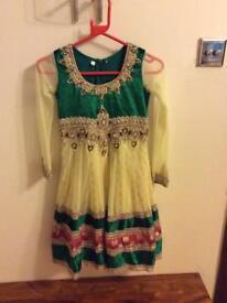 Girls anarkali dress size 26