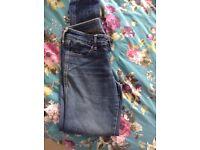 Woman's h n m skinny jeans