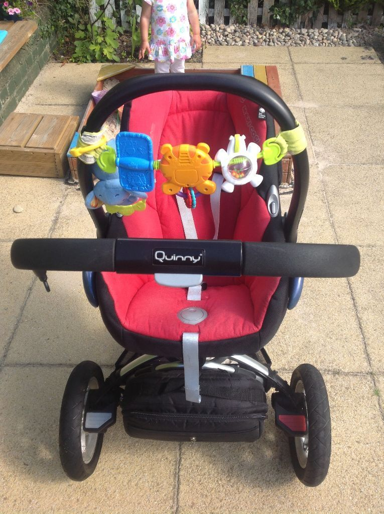 Quinny Buzz Travel System incl. Car Seat & Isofix Mount - price drop