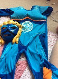 Gormitti dress up costume age 7-8