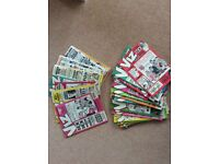Collection of Viz comics and annuals excellent condition