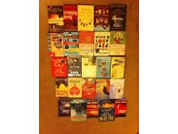 Books- selection of 25.