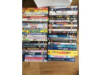 41 DVD's and 5 Blue-rays
