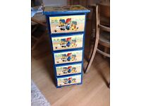 Hand painted Childrens Chest of Drawers