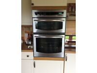 FREE Built in electric double oven and four ring ceramic hob. Good condition.