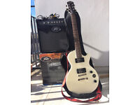 Epiphone Vintage White (Special ii) + Amp
