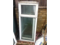 4 double glazed windows and a frosted glass exterior door