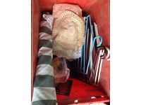 3 boxes of miscellaneous car boot items