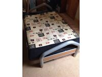 Sofa bed, mattress underneath included