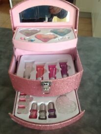 Girls Carry Case Makeup set from Claire's