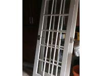 White Hardwood French Doors PAIGNTON