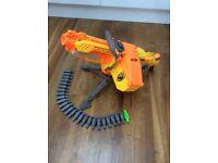 Nerf gun and bullett belt