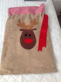 Christmas sack home made
