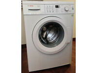 BOSCH WASHING MACHINE 7kg 1400spin, cold water intake, AquaStop leak guard. Matching tumble dryer