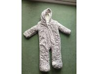 Baby Girls Snow Suit - 9-12 Months