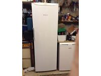 Large upright Hotpoint freezer