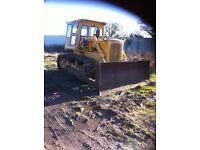 caterpillar d6c bulldozer crawler tractor caterpiller dozer