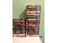 66 DVDS FOR SALE £1 EACH OR LOT FOR £45