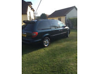Chrysler Voyager with DVD