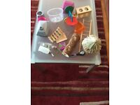 Large selection of hamster toys and accessories