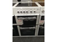 Flavel Milano E50 white cooker. £225 new/graded 12 month Gtee
