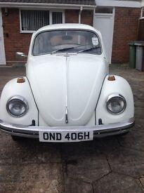 1970 Volkswagen beetle 1300 cc,