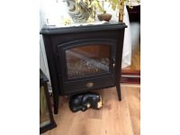 Cast iron electric heater
