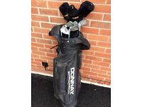 Donnay carbon shaft irons +woods