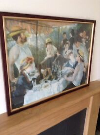Framed and glazed Print - Renoir - Luncheon of the Boating Party