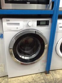 Beko white washing machine. 10kg 1400 spin A+++ £279 RRP £379 new/graded 12 month Gtee