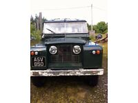 Land Rover S2A 1961 Loosing storage must sell MOT'd until July 18 lots of money spent