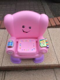 Girls Learning Toy Chair