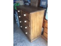 Period chest of drawers