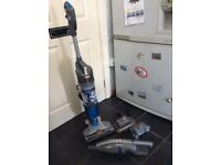 Vax U86-AL-B Air Cordless Duo Vacuum Cleaner, 1 L - Silver/Blue And air cordless handheld