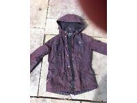 Barbour brown ladies jacket