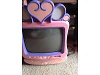 Disney TV and DVD player