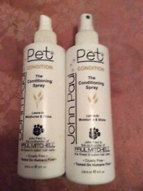 Paul Mitchell conditioning Spray for Dogs/Pets