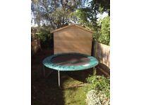 Trampoline 8 foot - children's garden type