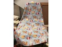 Pretty apron with farmyard animals