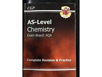As Level chemistry Aqa science book