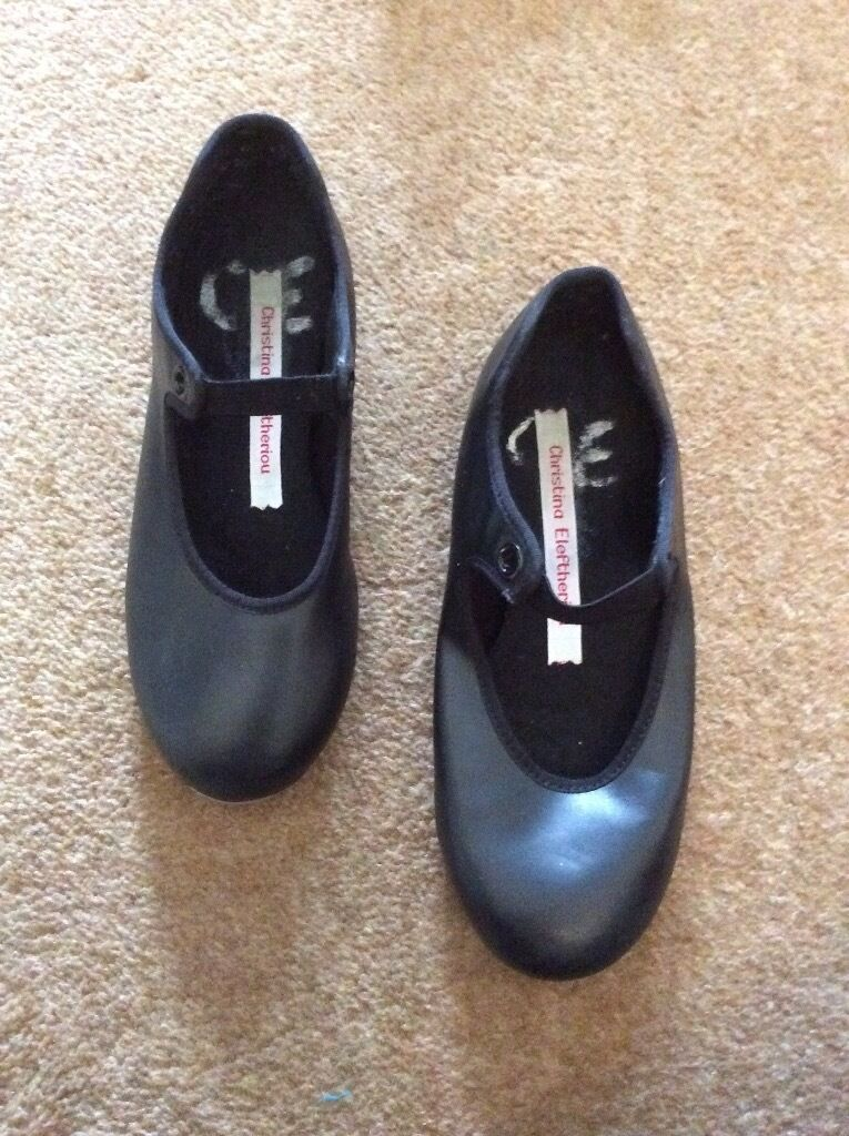 Childrens tap shoesin York, North YorkshireGumtree - Well used, size 12 tap shoes. My Daughters name is written in the inside of the shoe