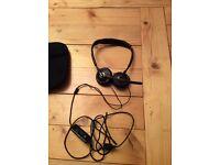 plantronics black wire C420-M headset