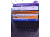 6 x first year business studies/accounting books