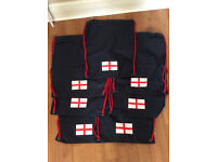 Football Gym Bag Gymsack with Logo of England Flag X-Mas Gift
