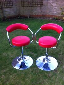 Two breakfast chairs