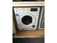 Intergrated washer dryer new graded 12 mths gree